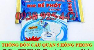 Bán bột thông cống nghẹt Quận 5 miễn phí giao hàng 0903737957