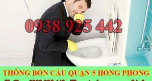 Dịch vụ xử lý mùi hôi nhà vệ sinh Quận 5 giá rẻ 0932416635