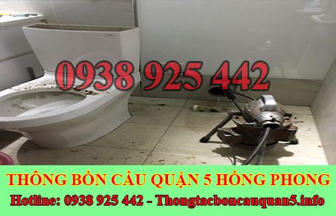 Thông Cầu Cống Nghẹt Quận 5 Giá Rẻ Hồng Phong 0938925442