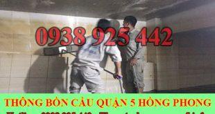 Bảng giá vệ sinh bể chứa nước ngầm Quận 5 giá rẻ 0903737957