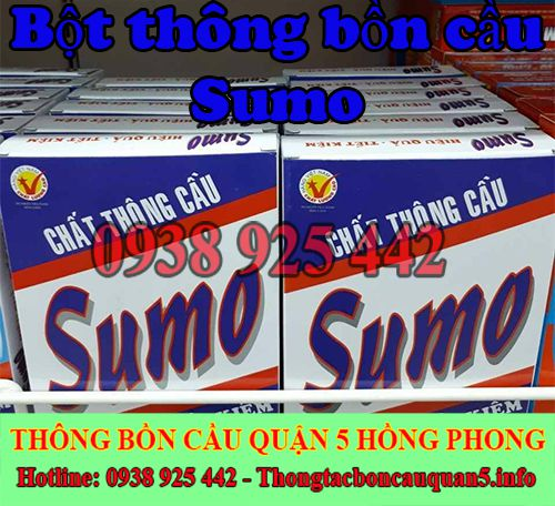 Bột thông bồn cầu Sumo hiệu quả ngay lần dùng đầu tiên