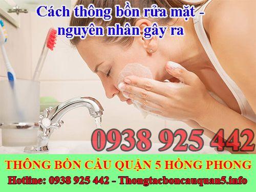 Cách thông bồn rửa mặt - nguyên nhân gây ra